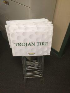 Trojan Tire Sponsor Of Raben Tire Golf Classic Trojan