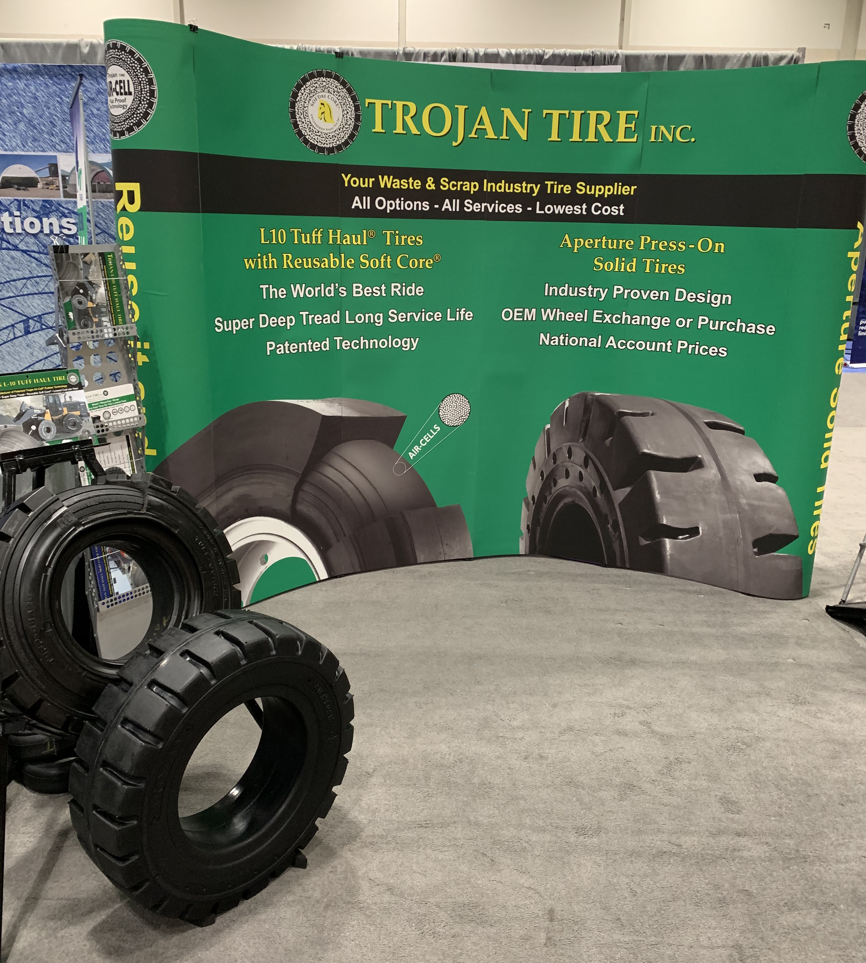 Tires Near Me Open Now >> 2019 Waste Recycling Expo Canada Open Trojan Tire Inc